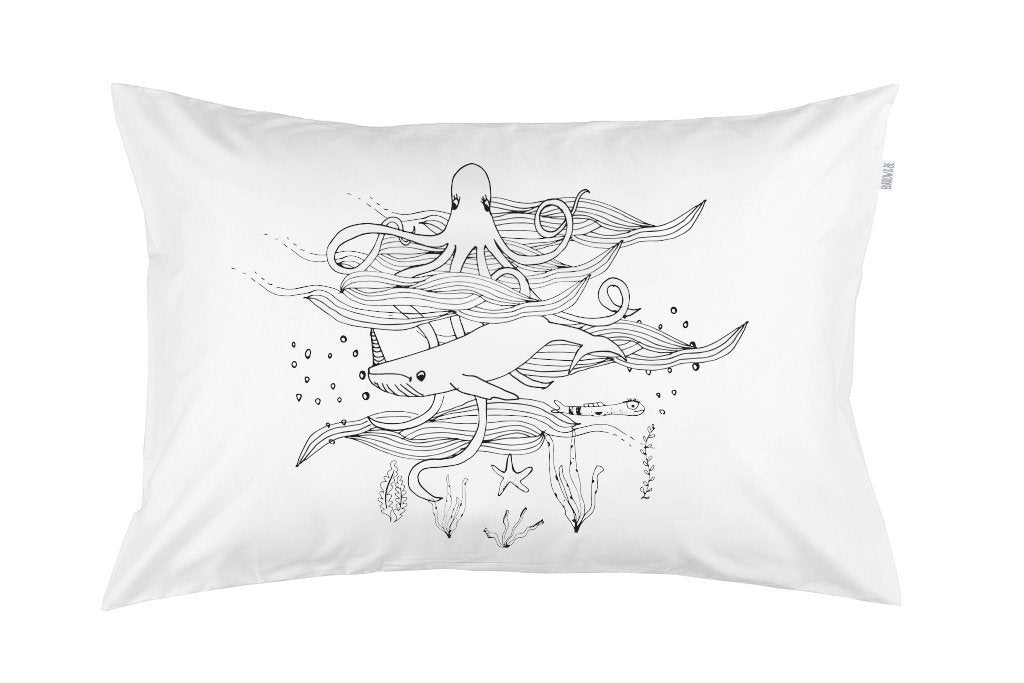 Burrow&Be - Pillowcase - Mermaid Life Placement Baby Burrow&Be