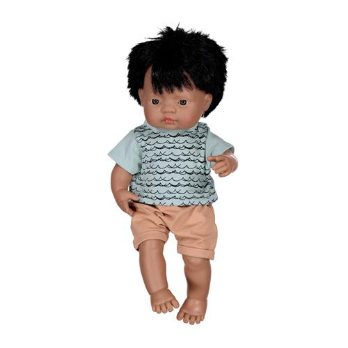 Burrow&Be - Dolls Classic Tee - Waves/38cm Doll Toys Burrow&Be
