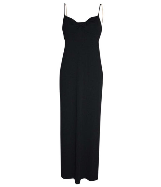 Céline Long black evening dress - Iconics Preloved Luxury