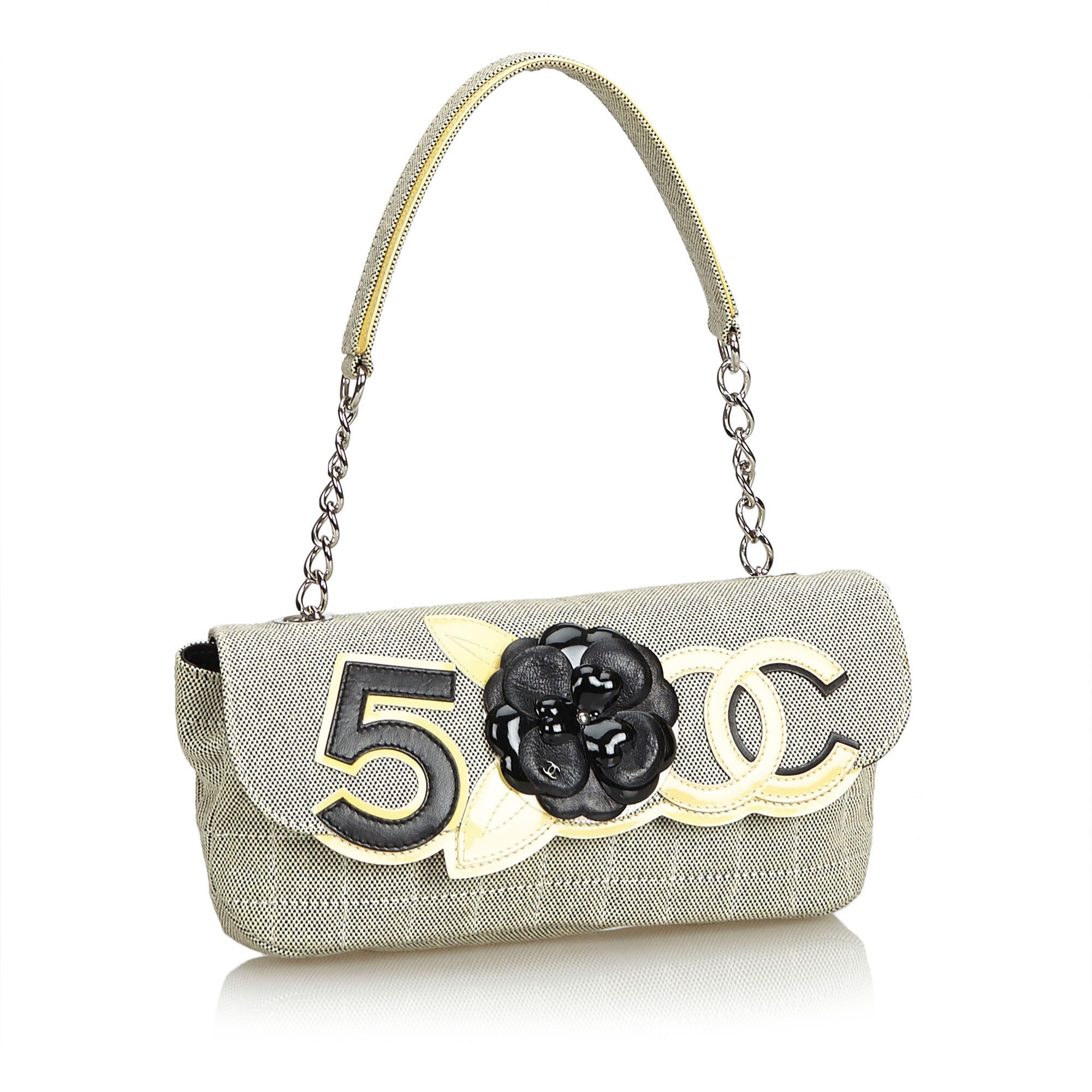 Chanel Camellia No. 5 Baguette - Iconics Preloved Luxury