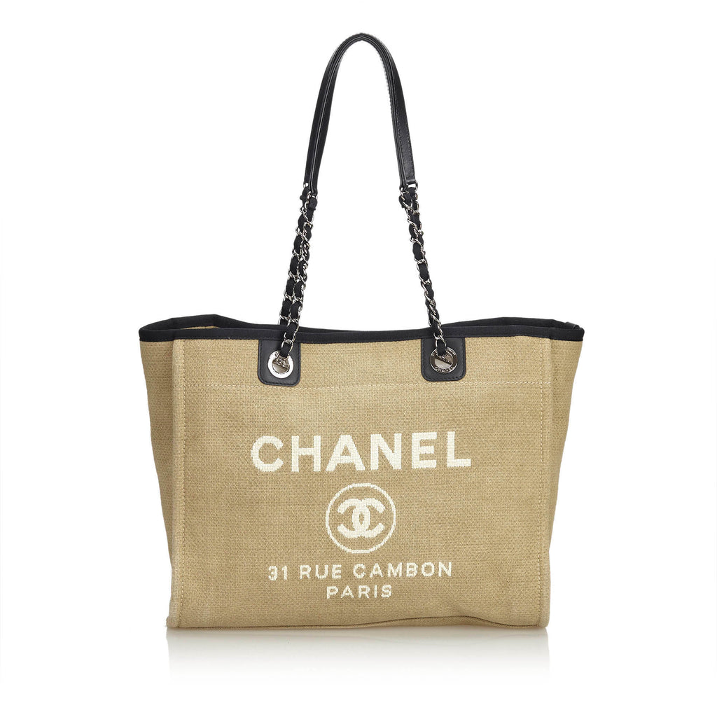 Chanel  Deauville bag - Iconics Preloved Luxury