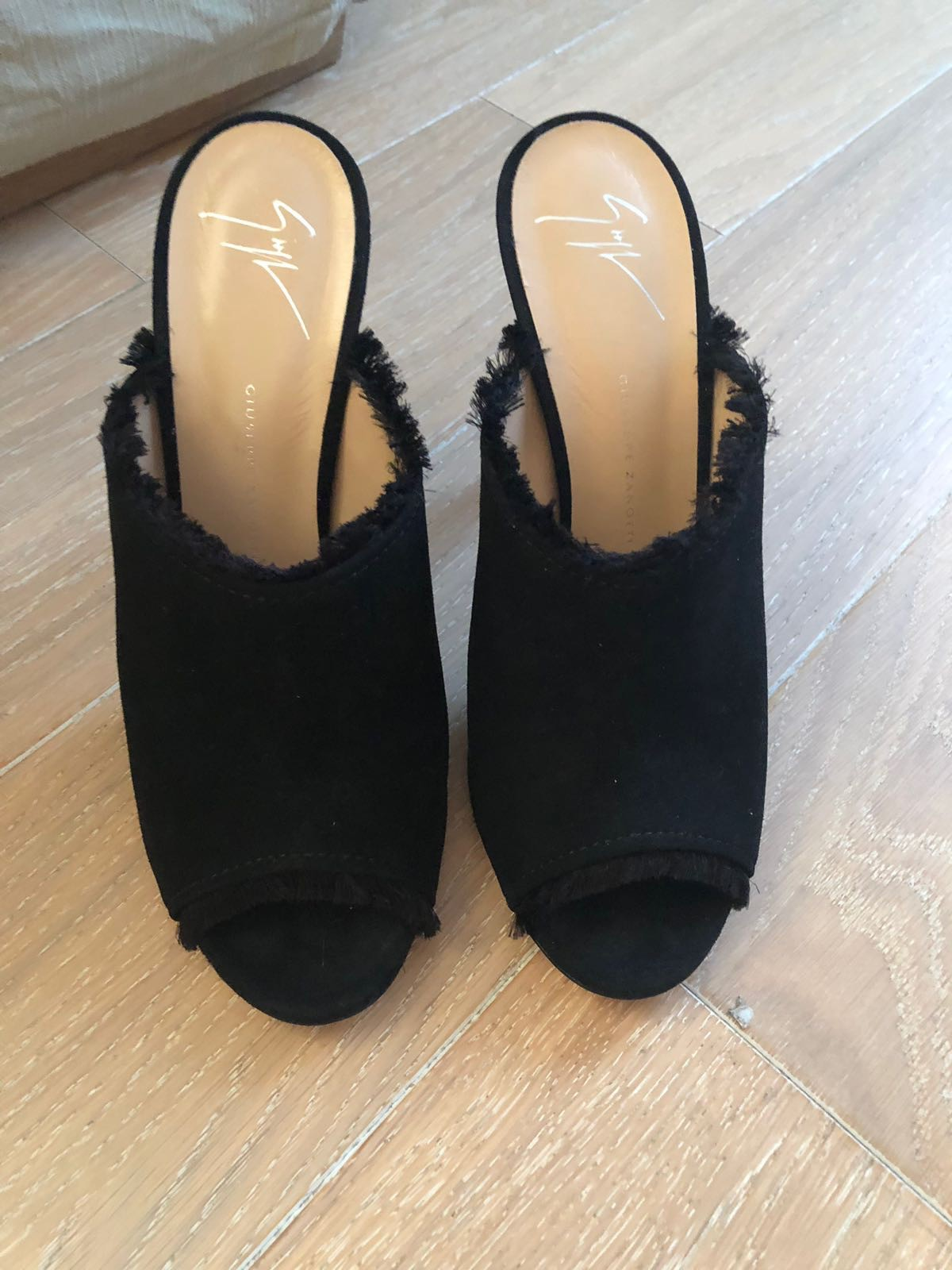 Giuseppe Zanotti Frayed mules 40 - Iconics Preloved Luxury