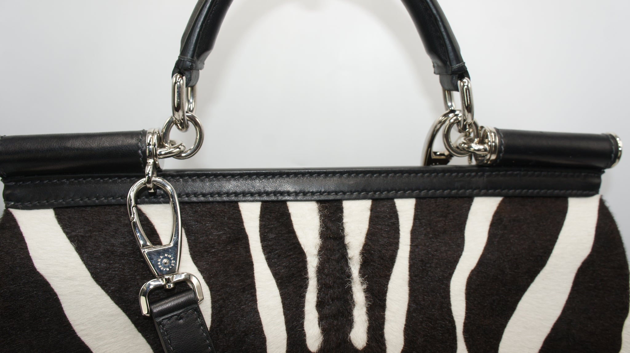 Dolce and Gabbana Miss Sicily Pony Hair Bag - Iconics Preloved Luxury