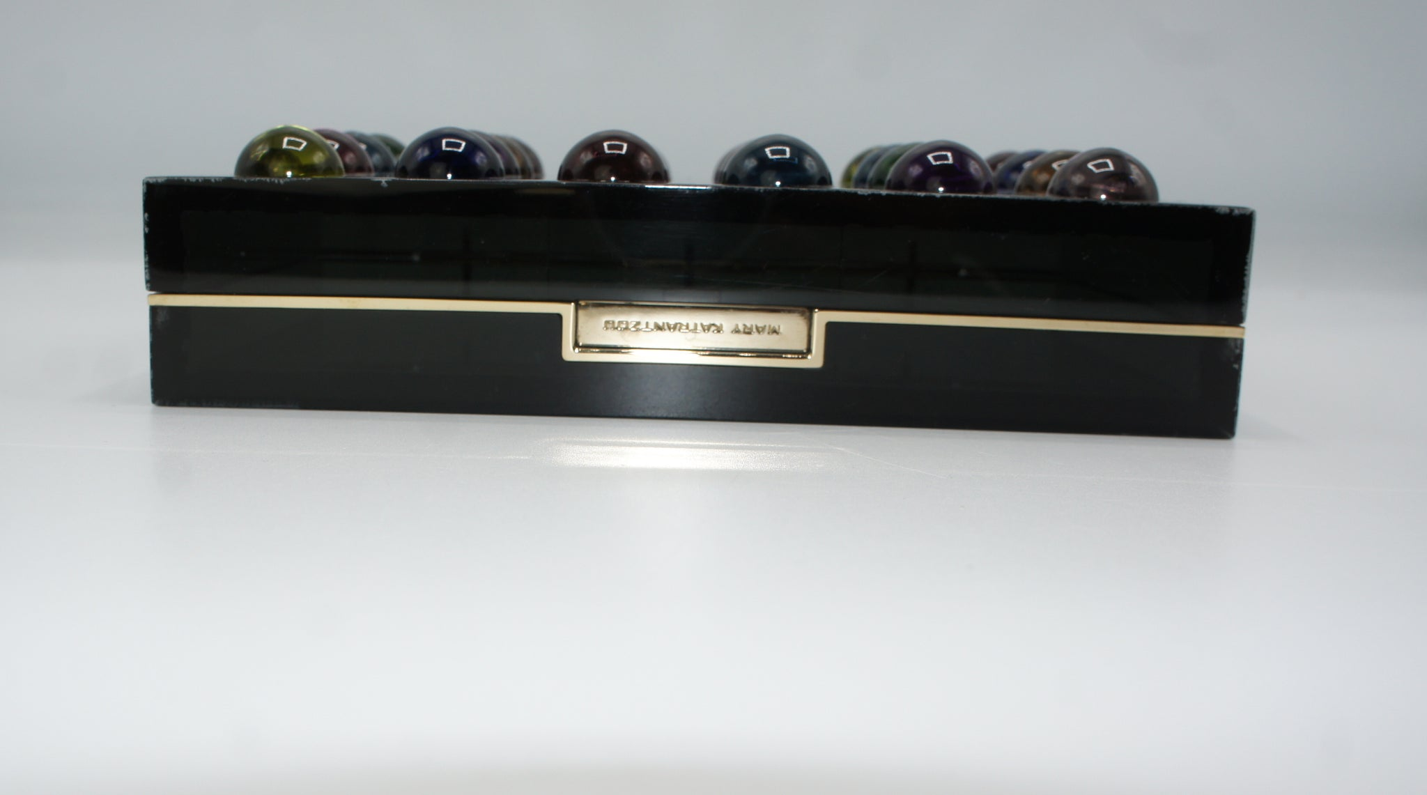 Mary Katrantzou Dot Box Clutch - Iconics Preloved Luxury