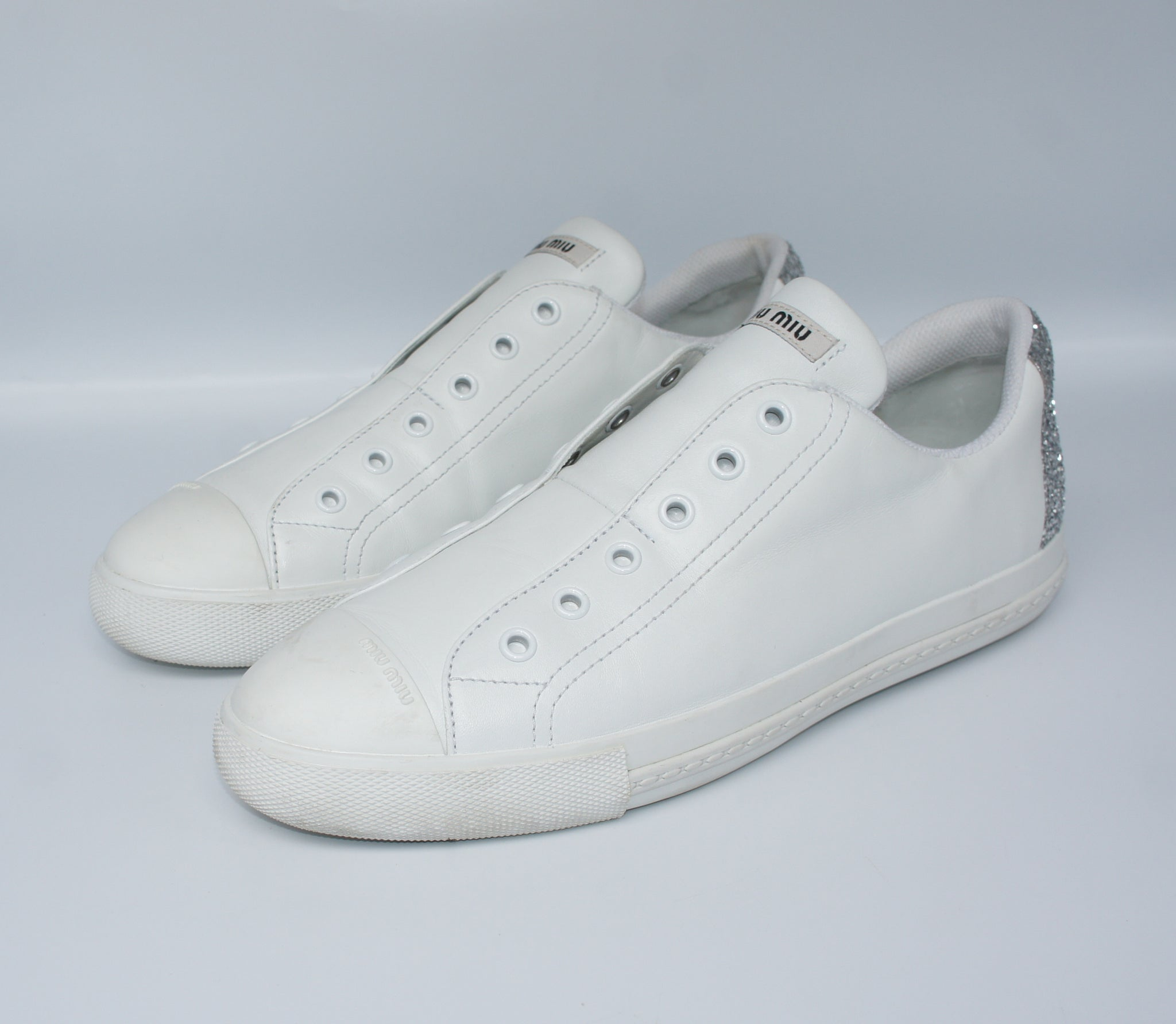 outlet store sale order online cheaper Miu Miu sneakers, 40 – Iconics Preloved Luxury