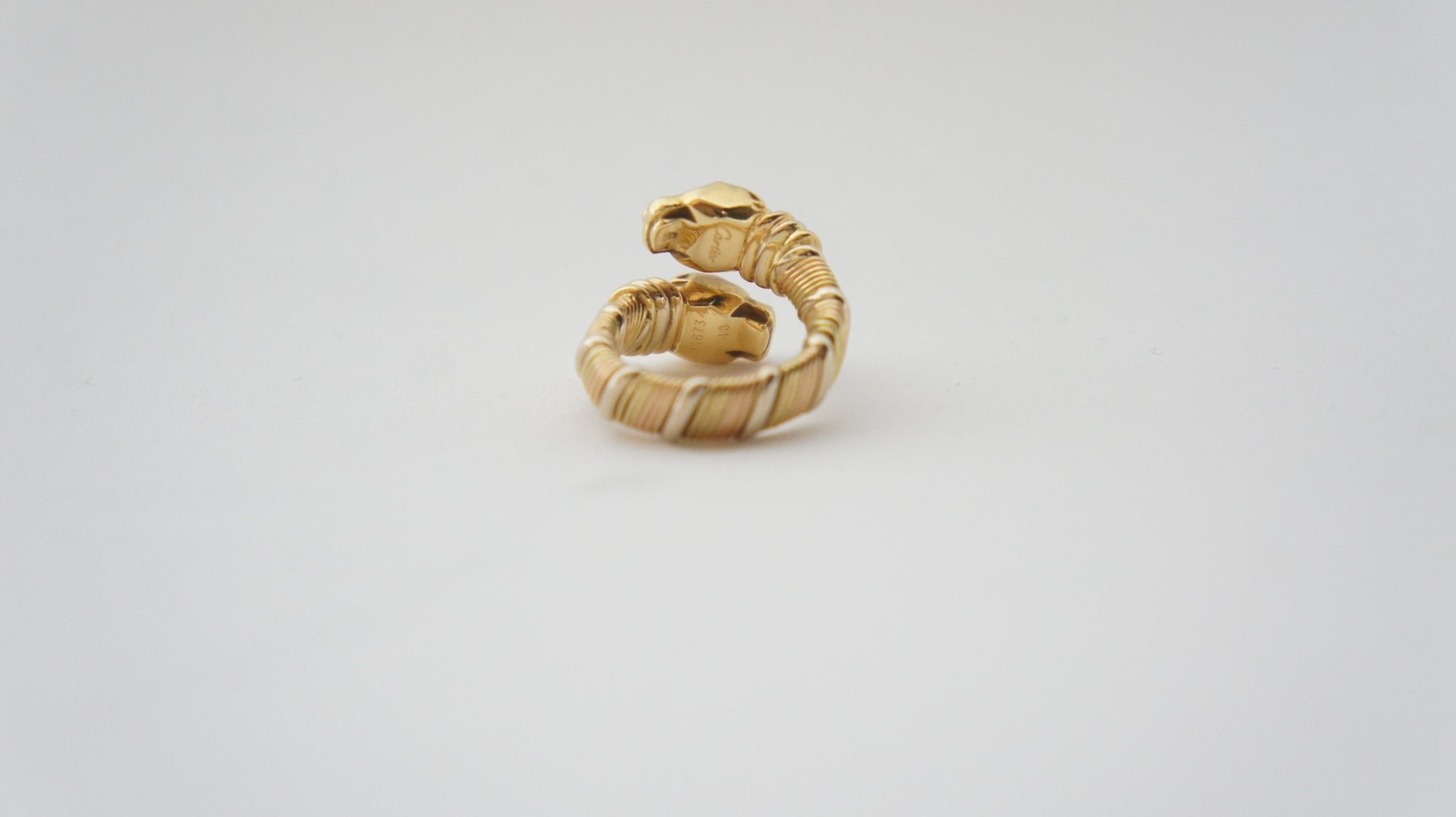 Cartier Double head Panthère Ring - Iconics Preloved Luxury