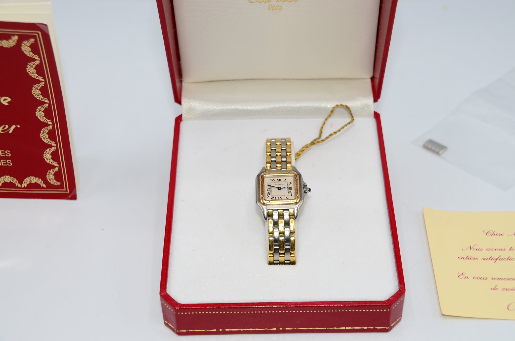 Cartier Panthère 3 Row watch - Iconics Preloved Luxury