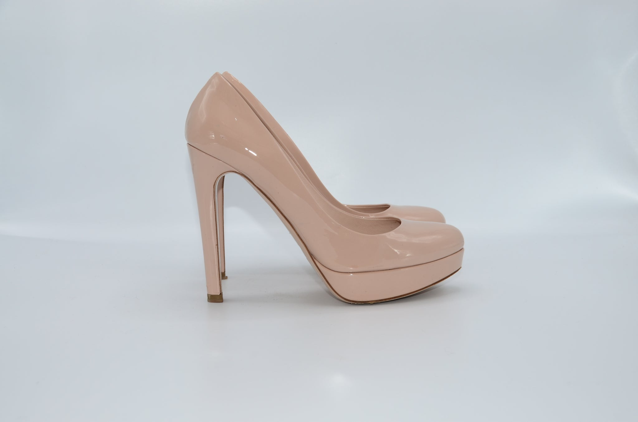 Miu Miu Nude Pump 38,5 - Iconics Preloved Luxury