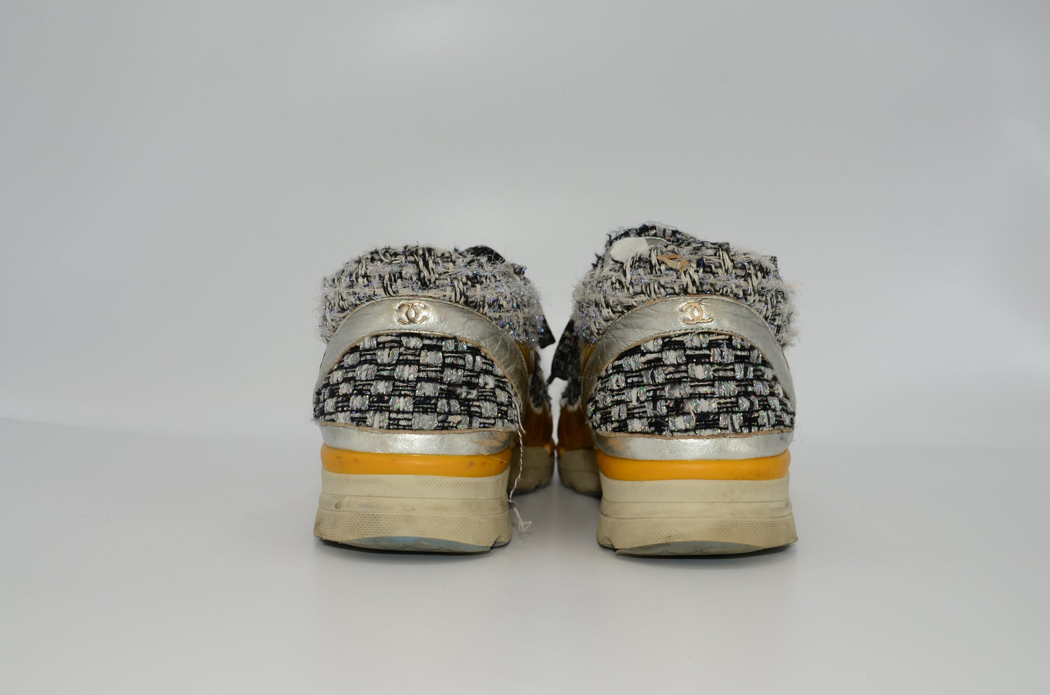 Chanel Tweed Trainer 39 - Iconics Preloved Luxury
