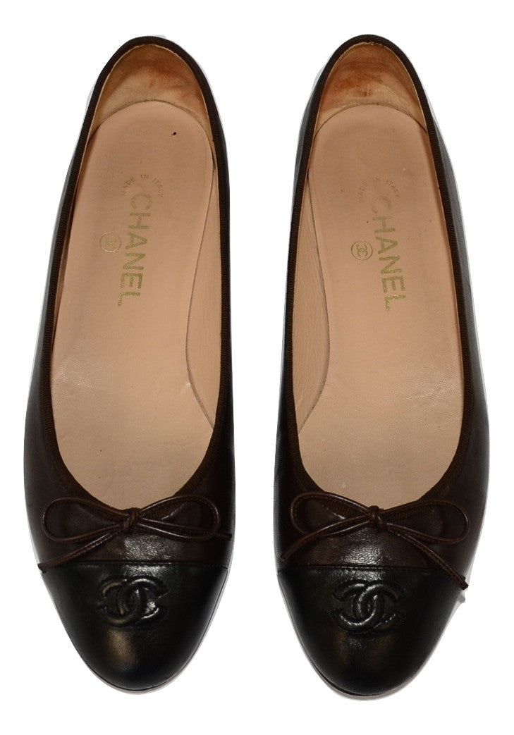 Chanel Ballerina's 40,5 - Iconics Preloved Luxury