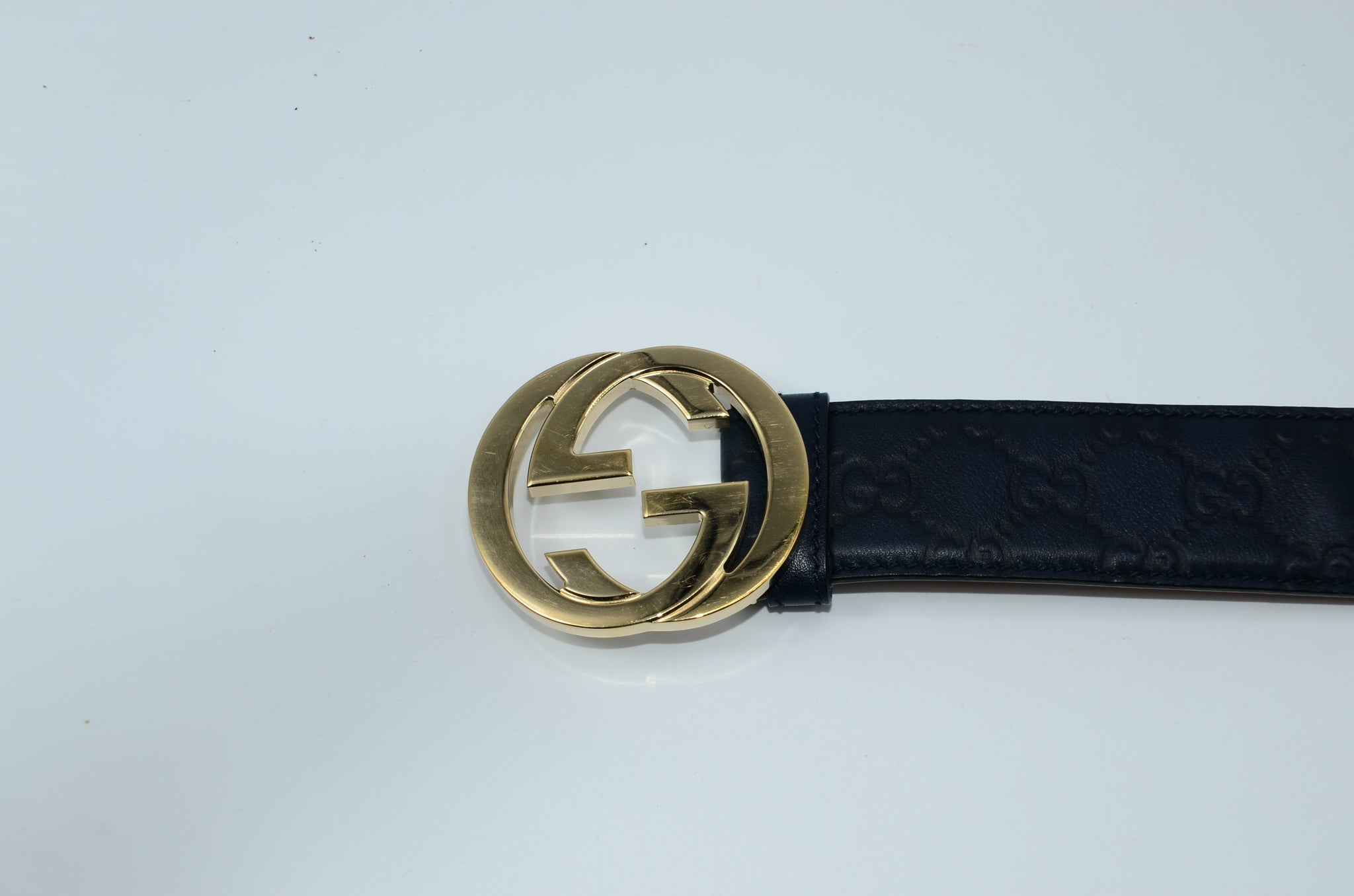 Gucci Signature leather belt - Iconics Preloved Luxury