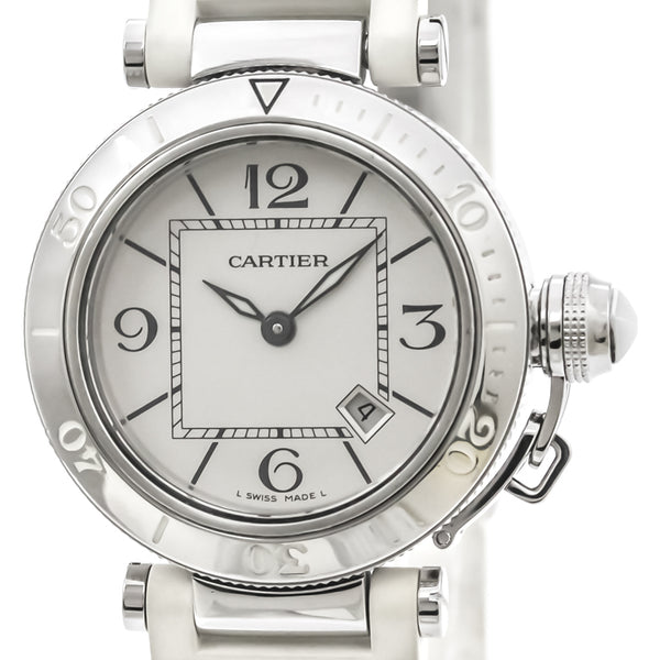 Cartier Pasha Steel - Iconics Preloved Luxury