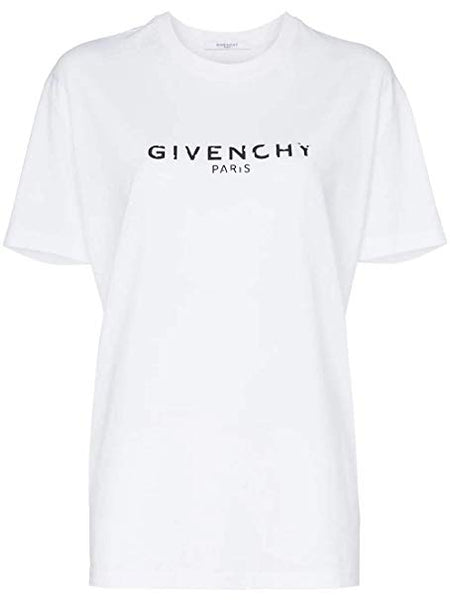 Givenchy Contrast Logo T-Shirt XS - Iconics Preloved Luxury