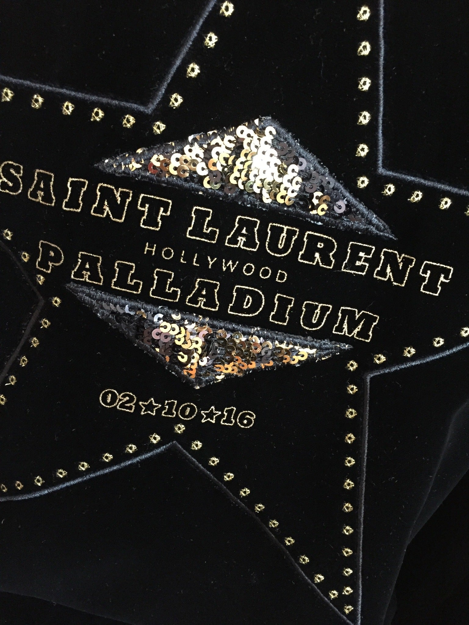 Saint Laurent Velvet Bomber jacket