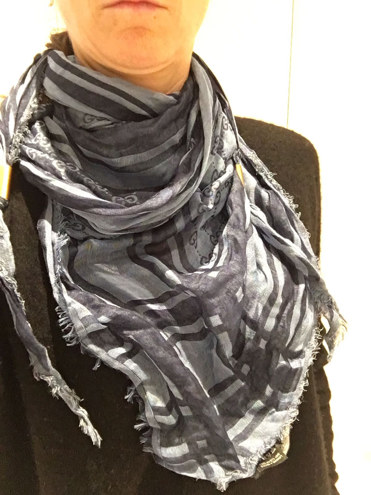 Gucci GG Scarf - Iconics Preloved Luxury