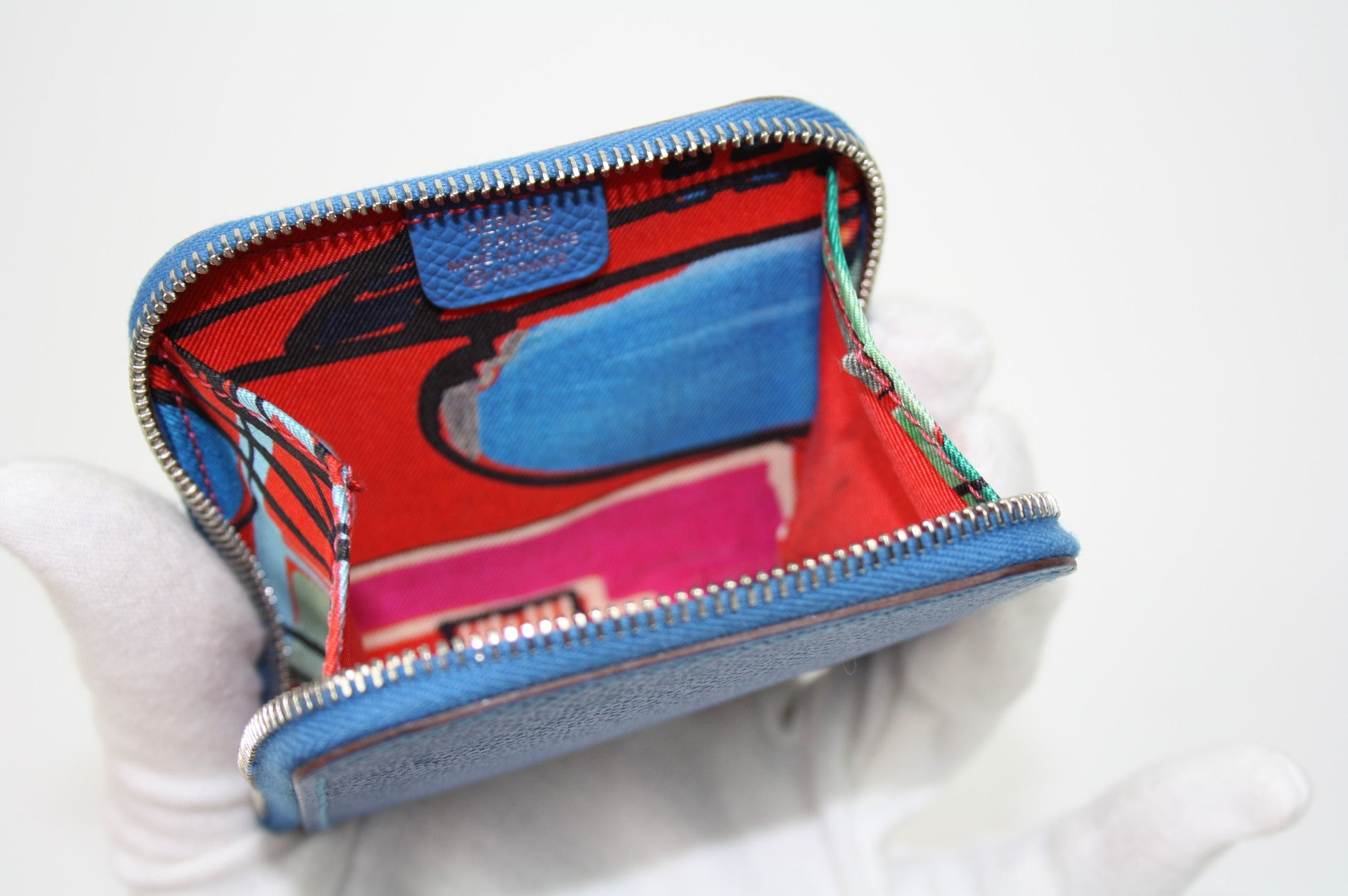 Hermès Azap Compact Silk'in Wallet