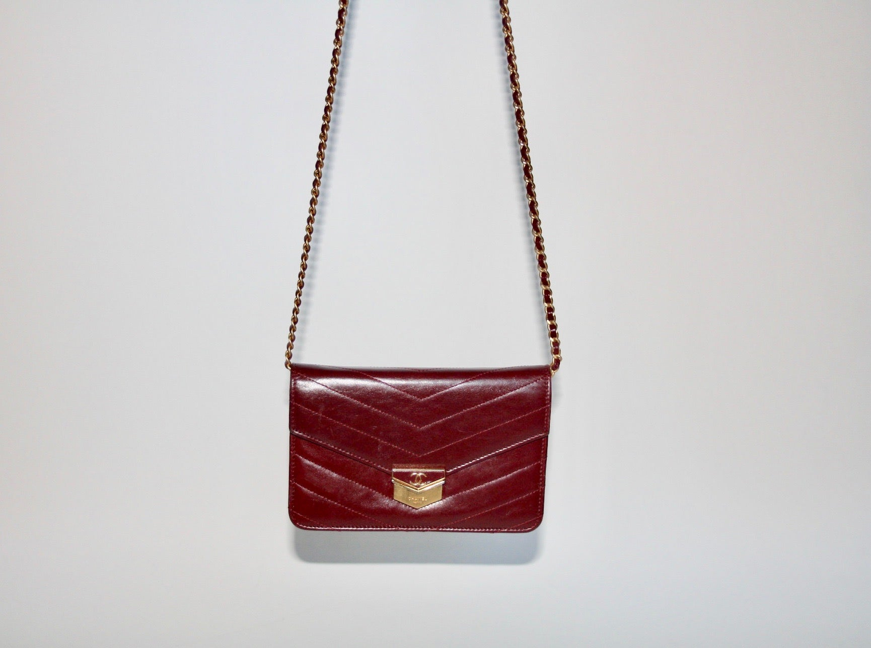 Chanel WOC Bordeaux - Iconics Preloved Luxury