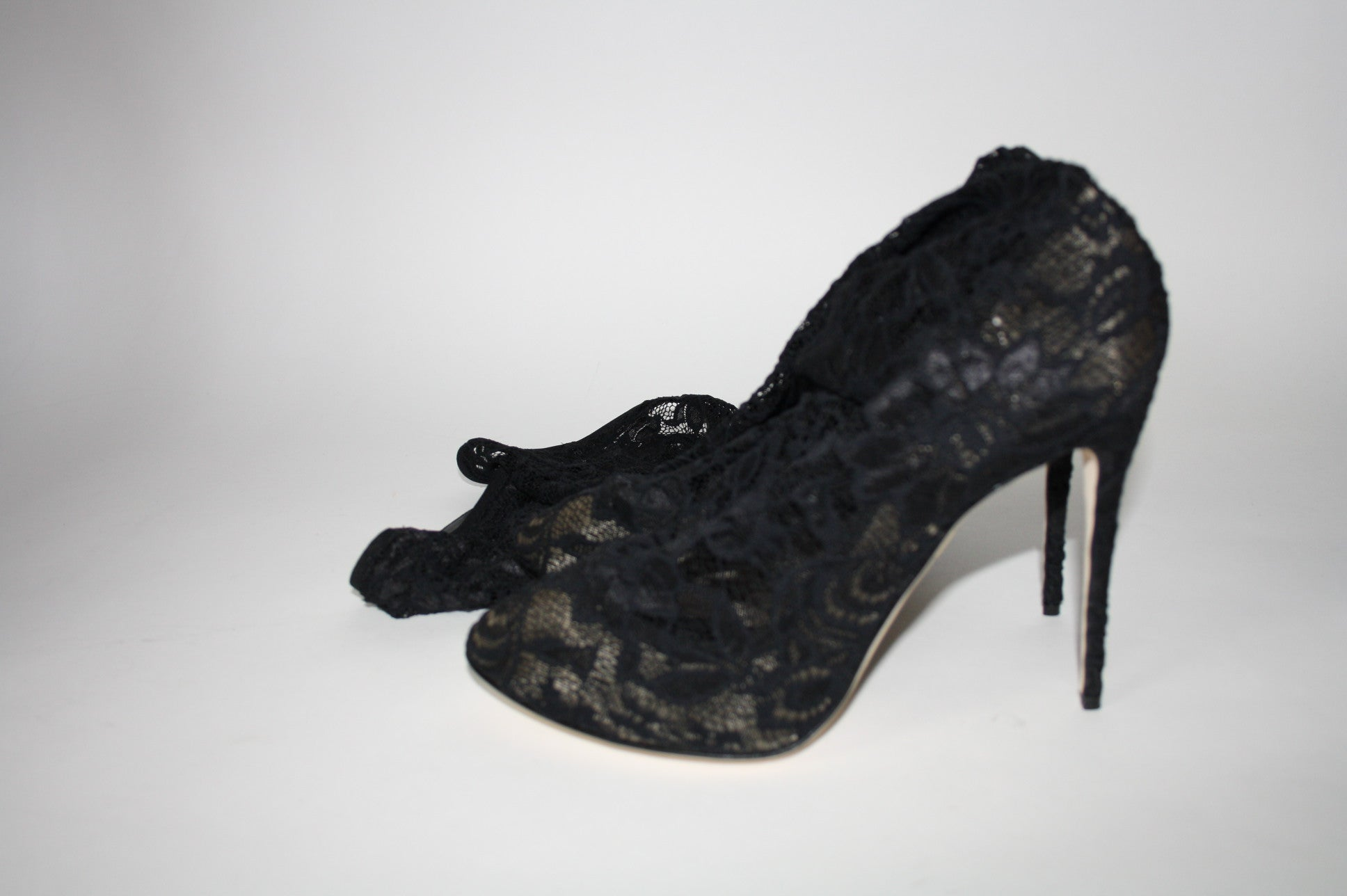 Dolce & Gabbana lace boots, 41 - Iconics Preloved Luxury