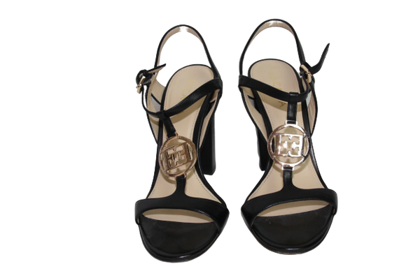 Escada Logo Sandals, 39 - Iconics Preloved Luxury