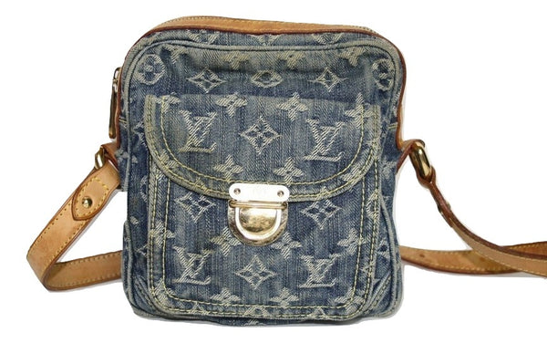 Louis Vuitton Denim Camera Bag - Iconics Preloved Luxury