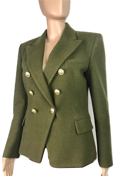 Balmain Double breasted Blazer, 42 - Iconics Preloved Luxury