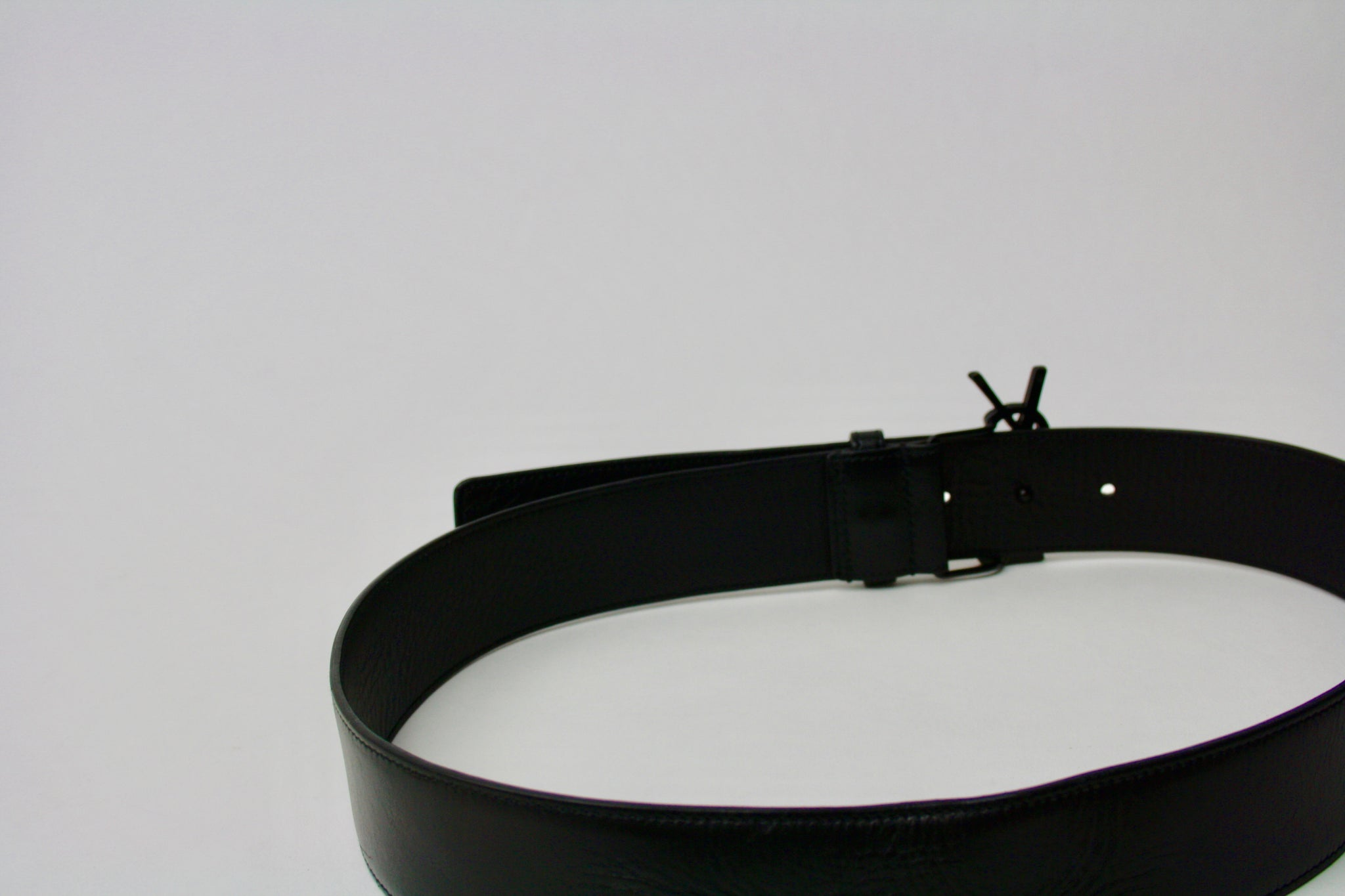 Saint Laurent Monogram Belt, 80