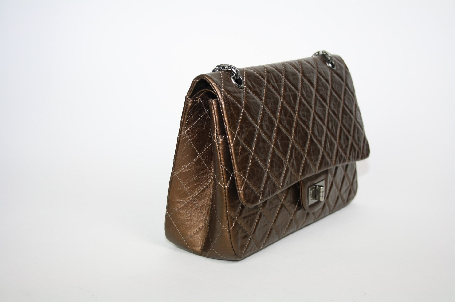 Chanel Bronze 2.55 Reissue Flap bag - Iconics Preloved Luxury