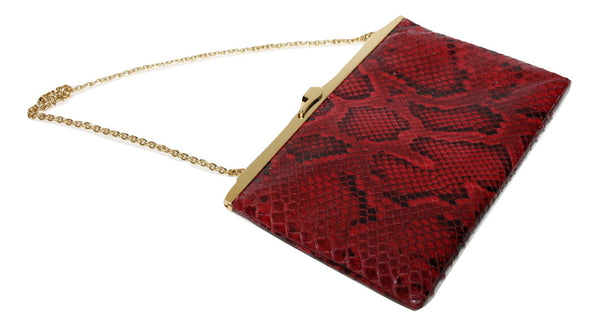 Dolce and Gabbana Red Clutch Bag