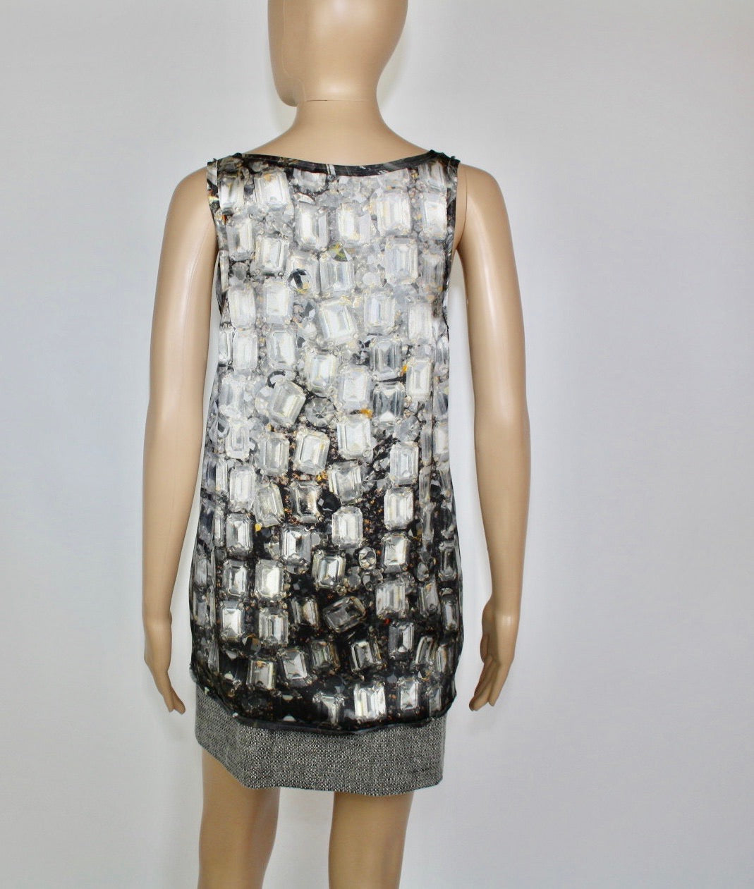 Lanvin Crystal Print Top - Iconics Preloved Luxury