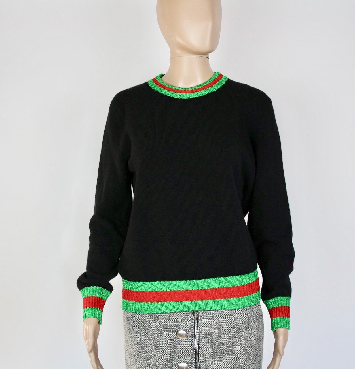 Gucci Black sweater - Iconics Preloved Luxury