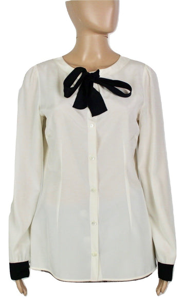 Dolce and Gabbanna Silk blouse, 42 - Iconics Preloved Luxury
