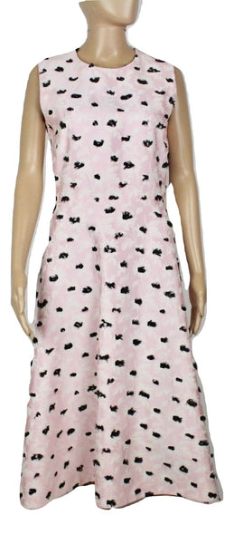 Balenciaga Long Floral Pink dress, 40 - Iconics Preloved Luxury