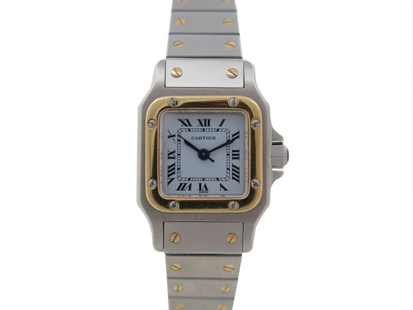 Cartier Santos watch - Iconics Preloved Luxury