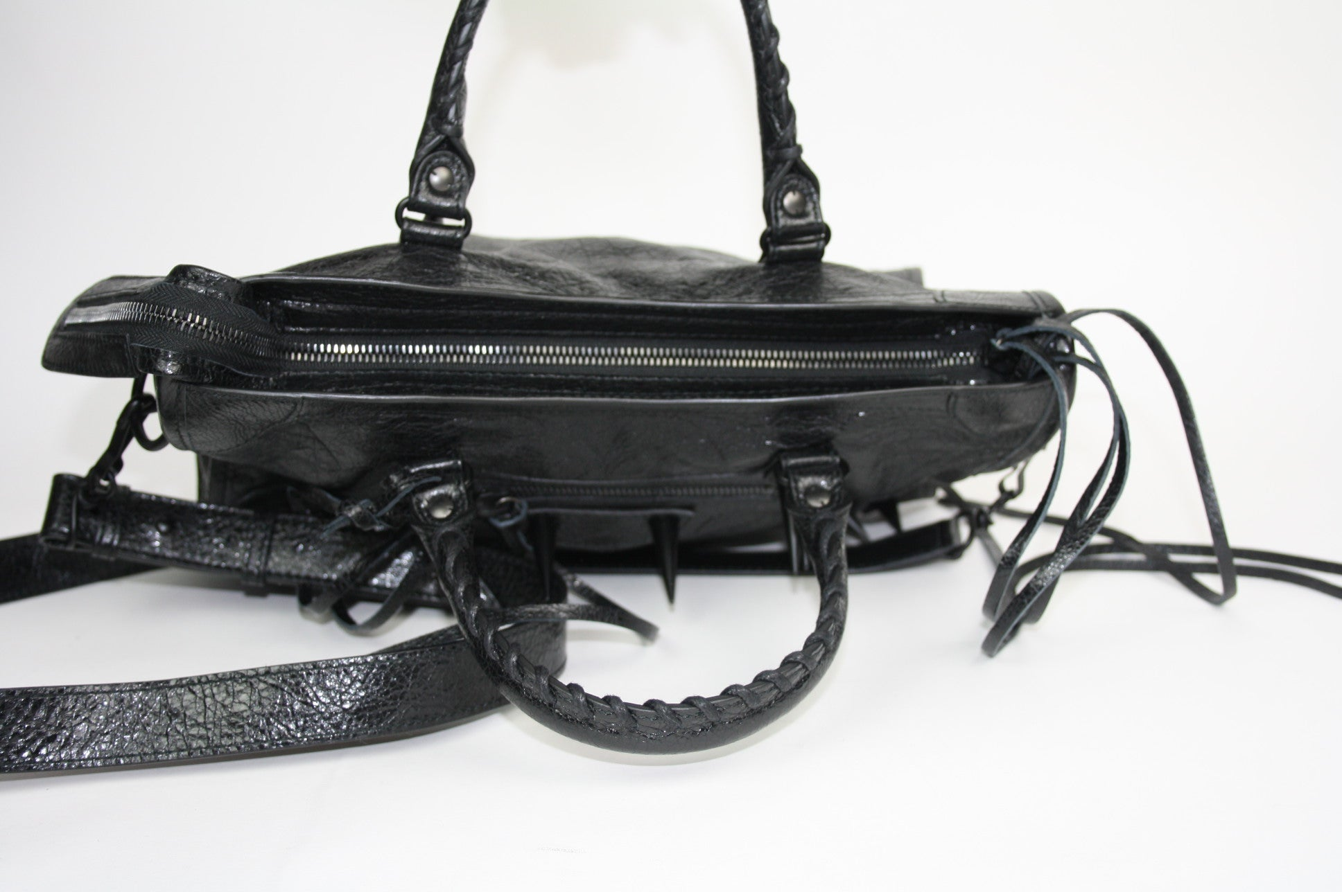 Balenciaga Small City Spike Bag - Iconics Preloved Luxury