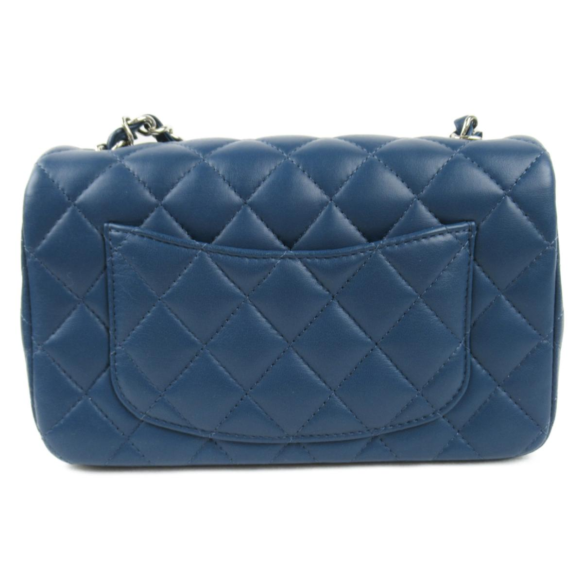 Chanel Mini Blue Bag - Iconics Preloved Luxury