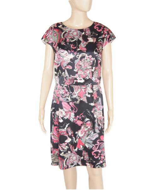 Chanel Silk Dress 42 - Iconics Preloved Luxury