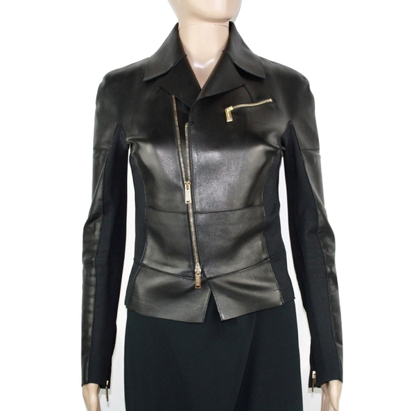 Dsquared2 leather blazer 42 - Iconics Preloved Luxury