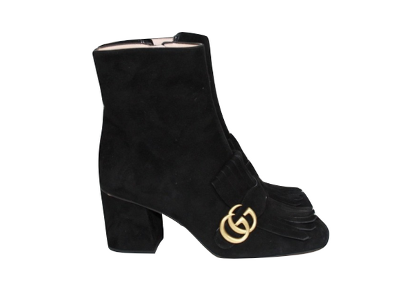 Gucci Marmont Boots 39 - Iconics Preloved Luxury