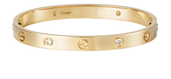 Cartier Love Bracelet 4 Diamonds - Iconics Preloved Luxury