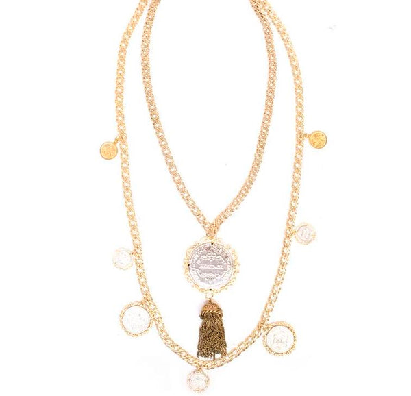 Dolce & Gabbana Sicily Heritage Necklace - Iconics Preloved Luxury