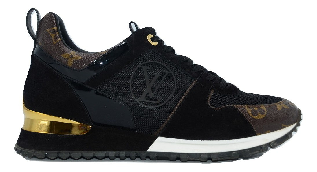 Louis Vuitton Run Away Sneaker 38 - Iconics Preloved Luxury