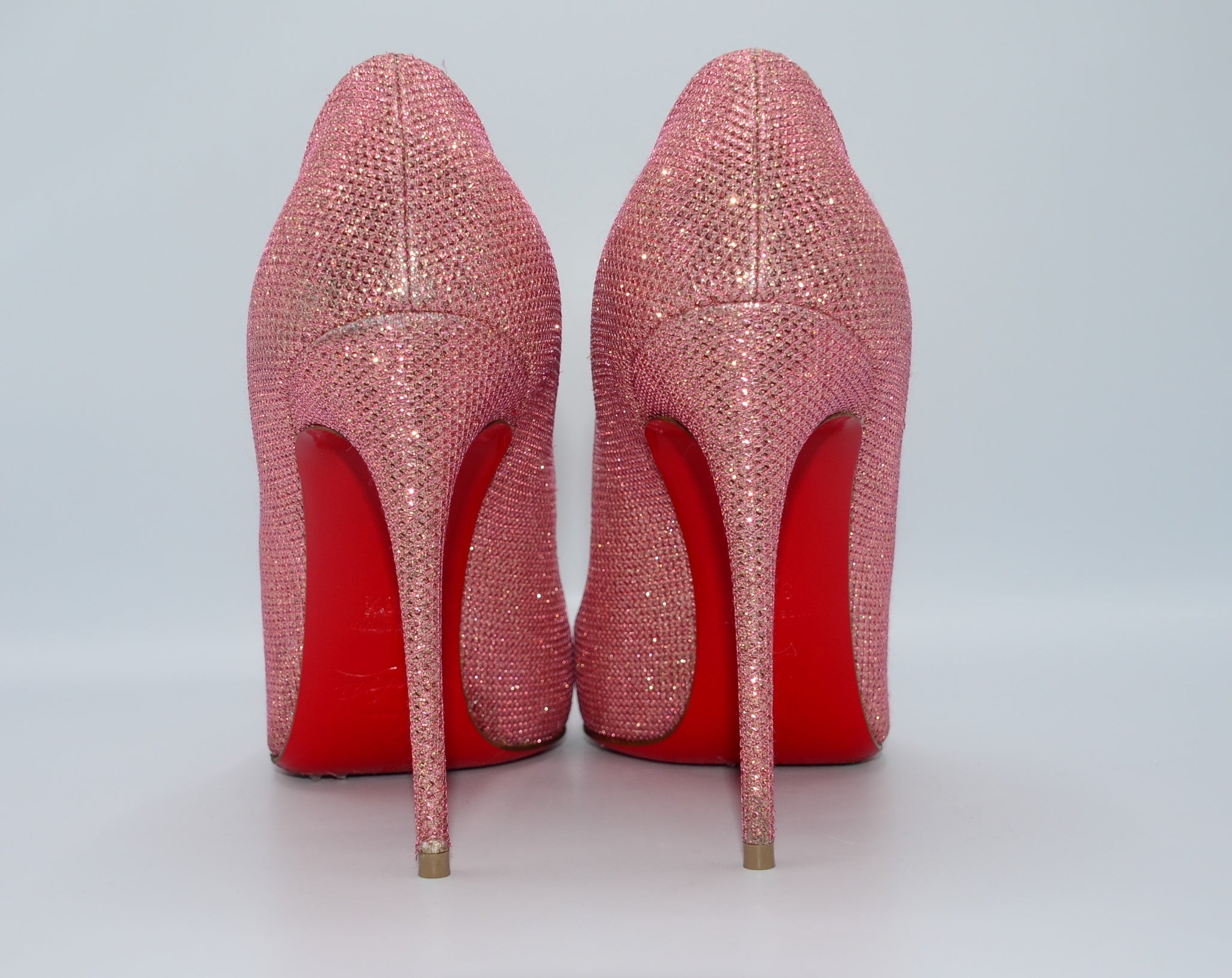 Christian Louboutin, Pigalle Follies 100mm 39,5 - Iconics Preloved Luxury