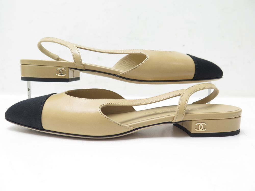 Chanel Slingbacks 36 - Iconics Preloved Luxury