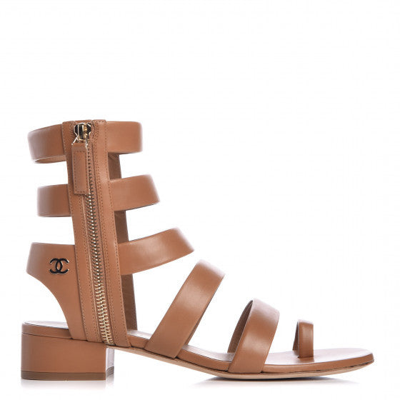 Chanel Gladiator Sandals 40,5 - Iconics Preloved Luxury