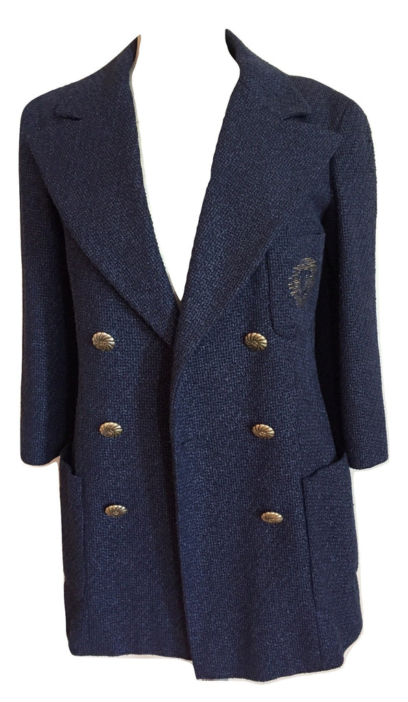 chanel blazer tweed