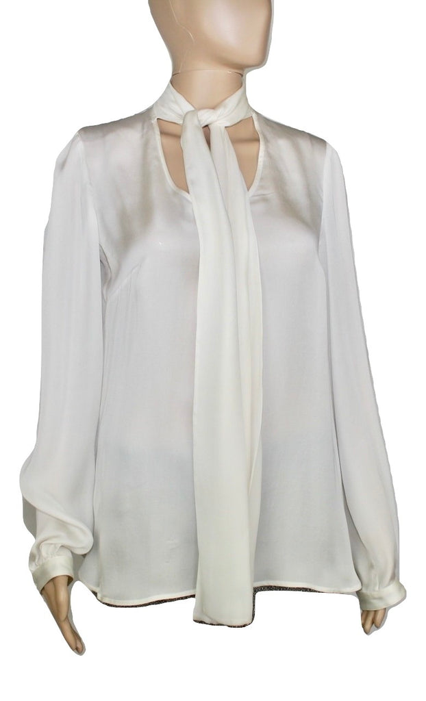 Dolce and Gabanna Silk blouse,42 - Iconics Preloved Luxury