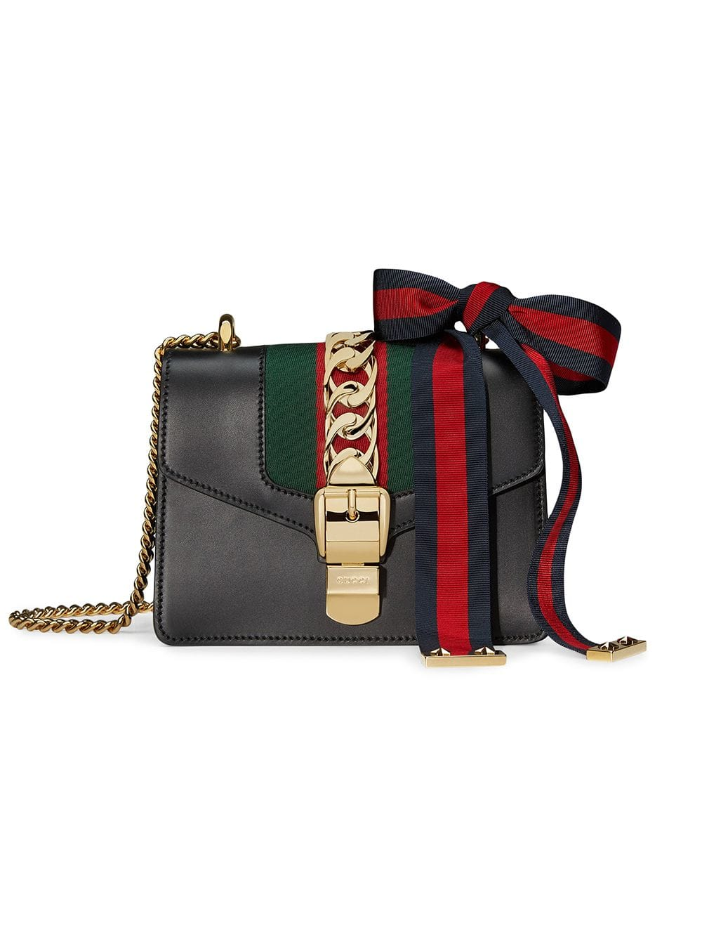 Gucci Sylvie Small leather bag - Iconics Preloved Luxury