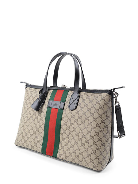 Gucci GG Supreme Duffle Bag - Iconics Preloved Luxury