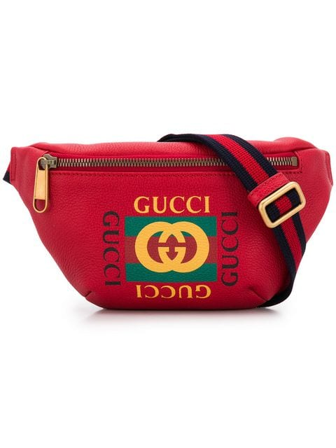 Gucci Print Leather bag - Iconics Preloved Luxury