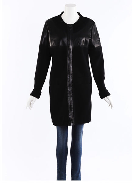 Chanel CC Black Coat - Iconics Preloved Luxury